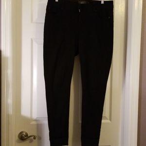 Torrid Black Bombshell Skinny Jeans